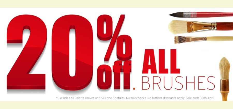 Brushes 20% OFF