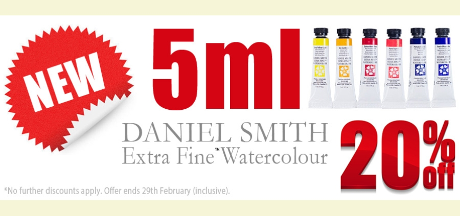 Daniel Smith 5ml 20% OFF