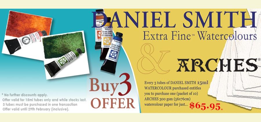 Daniel Smith Arches Promotion