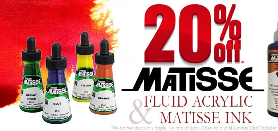 Matisse Ink & Fluid Acrylics