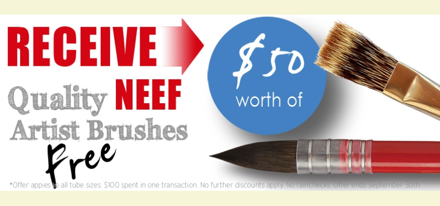 and get $50 worth of Neef Brushes FREE