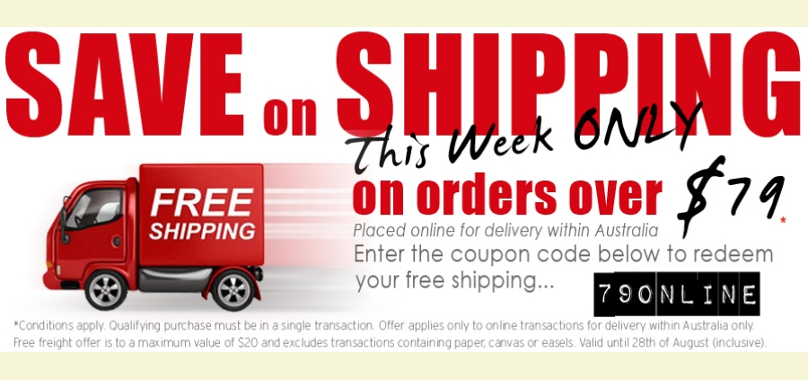 Free Freight Over $79 1 Week only