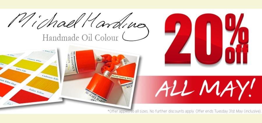 Michael Harding Handmade Oil Collours