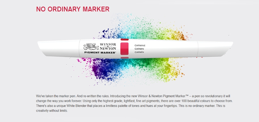New Winsor & Newton Pigment Parker