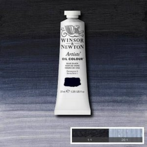 Blue Black Winsor & Newton Aoc 37ml