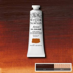 Burnt Sienna Winsor & Newton Aoc 37ml