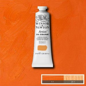 Cadmium Orange Winsor & Newton Aoc 37ml