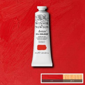 Cadmium Red Winsor & Newton Aoc 37ml