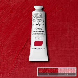 Cadmium Red Dp Winsor & Newton Aoc 37ml