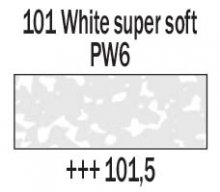 101.5 White Supersoft Rembrandt Soft Pastel