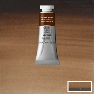 Vandyke Brown Awc Winsor & Newton 14ml