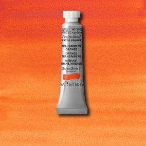 Transparent Orange Awc Winsor & Newton 5ml