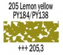205.3 Lemon Yellow Rembrandt Soft Pastel