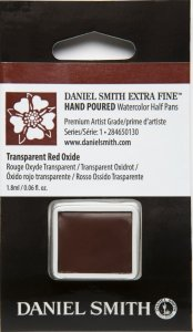 Transparent Red Oxide DS 1/2 Pan