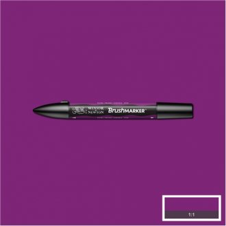 Plum (V735) Winsor Brush Marker