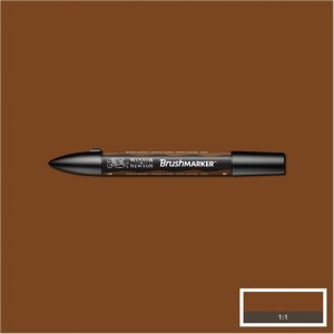 Burnt Sienna (O324) Winsor Brush Marker