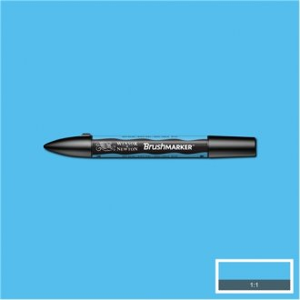 Sky Blue (B137) Winsor Brush Marker