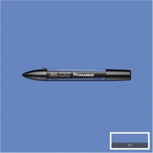China Blue (B736) Winsor Pro Marker