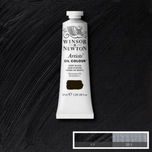 Ivory Black Winsor & Newton Aoc 37ml