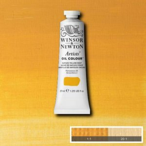 Naples Yellow Dp Winsor & Newton Aoc 37ml