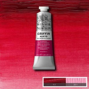 Permanent Alizarin Crimson Griffin 37ml