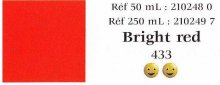 Bright Red Vitrail 50ml Jar