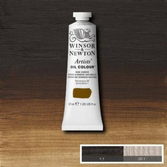 Raw Umber Winsor & Newton Aoc 37ml