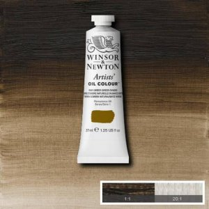 Raw Umber Green Shade Winsor & Newton Aoc 37ml
