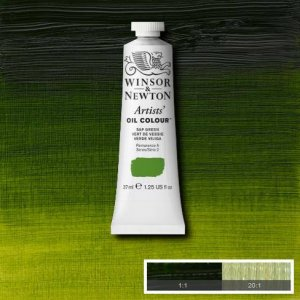 Sap Green Winsor & Newton Aoc 37ml