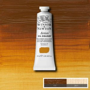 Transparent Gold Ochre Winsor & Newton Aoc 37ml
