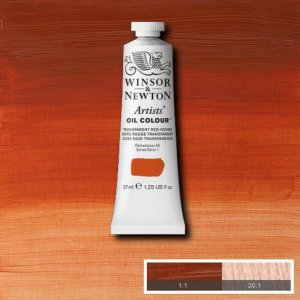 Transparent Red Ochre Winsor & Newton Aoc 37ml