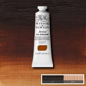 Transparent Brown Oxide Winsor & Newton Aoc 37ml