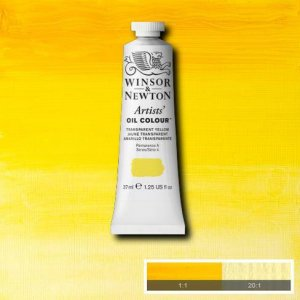 Transparent Yellow Winsor & Newton Aoc 37ml