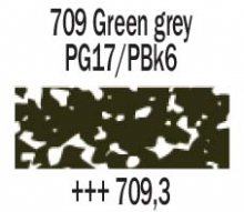 709.3 Green Grey Rembrandt Soft Pastel