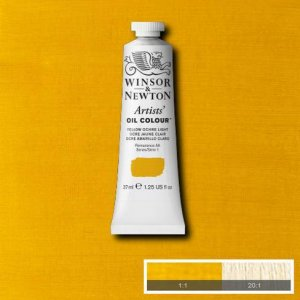 Yellow Ochre Lt Winsor & Newton Aoc 37ml