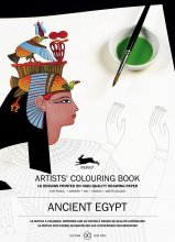 Ancient Egypt Artist Colouring Book Pepin