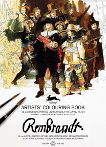 Rembrandt Artist Colouring Book Pepin