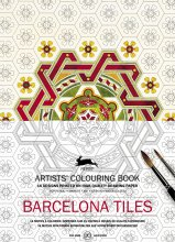 Barcelona Tiles Artist Colouring Book Pepin