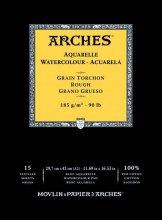 Arches Watercolour Pad 185gsm A3 Rough