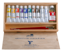 Art Spectrum Artist Oils Set with Mediums and Brushes