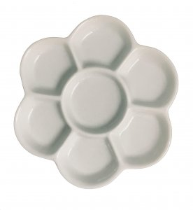 Art Spectrum Porcelain Flower Palette 13.6cm