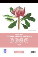 Premium Drawing Pad A4 50sheets Art Spectrum
