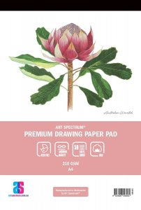 Premium Drawing Pad A3 50sheets Art Spectrum