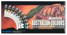 Matisse Structure Acrylic Set Australian Colours