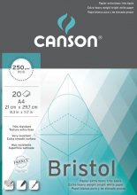 Canson Bristol Pad 250gsm A4 20sh