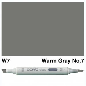 Copic Ciao W7