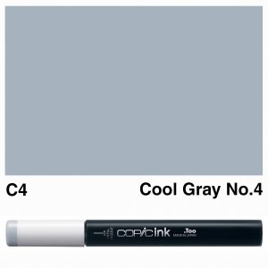 Copic Ink C4-Cool Gray No.4
