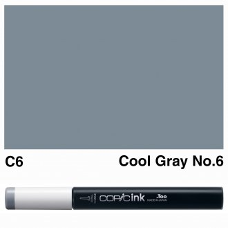 Copic Ink C6-Cool Gray No.6