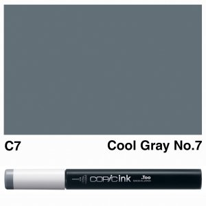 Copic Ink C7-Cool Gray No.7