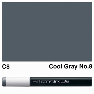 Copic Ink C8-Cool Gray No.8